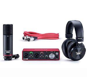 Kit Scarlett Focusrite USB Studio
