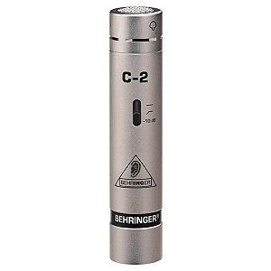 Microfone Condensador Behringer C-2 (Par)