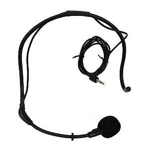 Microfone Yoga Cabeça com Fio HM-20 10307