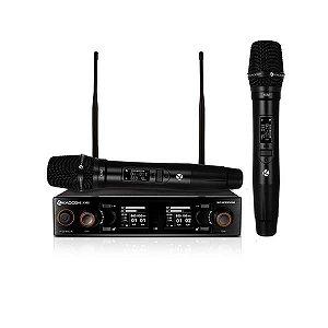 Microfone Kadosh sem Fio Mão Duplo K502M