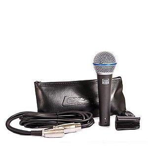 Microfone Lexsen LM-B58A com Fio