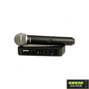 Microfone Shure Sem Fio BLX24BR/PG58-M15
