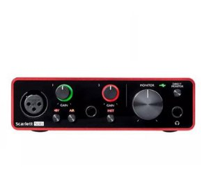 Interface De Audio Focusrite Scarlett Solo 3RD GEN