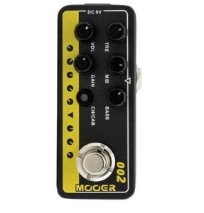 "Pedal Mooer Pre Amp ""Uk Gold 900"" M002"