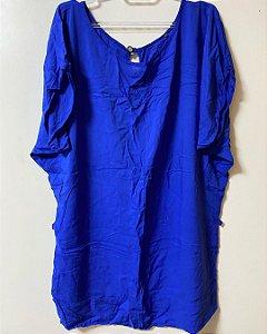 Camisa Fina Tecido Azul BIC