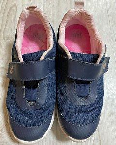 Tênis Infantil Velcro Marinho