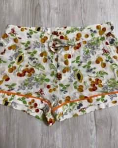Shorts Frutas Seda