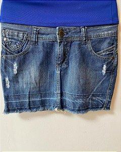 Saia Curta Jeans