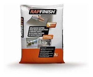 Argamassa de reparo e nivelamento de piso - Bautech Rapfinish (3 kg)