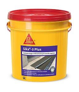 Aditivo Acelerador de Pega Isento de cloretos SIKA 3 (18 L)