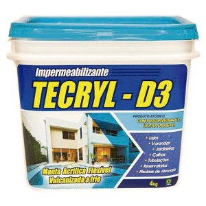 Tecryl D3 Cinza - 4 Kg