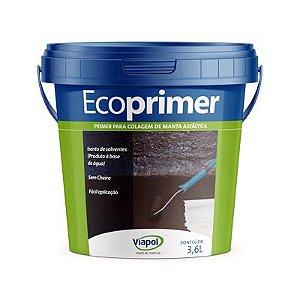 Primer para colagem de manta asfaltica-Ecoprimer Viapol (gl)