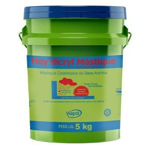 Selante acrilico Branco Heydicril Viapol (5 kg)