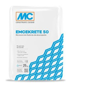 Microconcreto Mc Emcekrete 50 (25 kg)