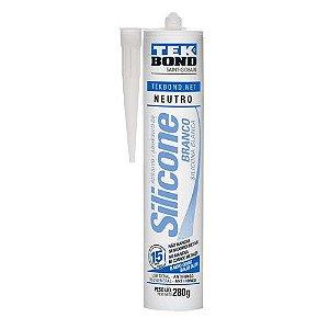 Silicone Neutro Tekbond 280G Branco