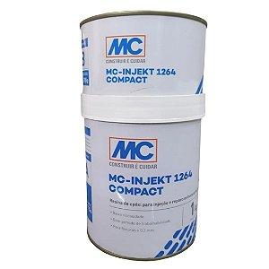 Resina Epoxi Para Injeçao Em Estruturas Mc Injekt 1264 1 Kg - Mc Bauchemie