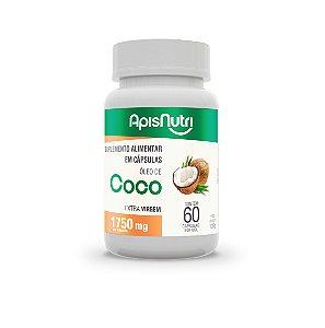 Óleo De Coco Extra Virgem 60 Cáps 1750Mg
