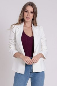 Blazer Off White