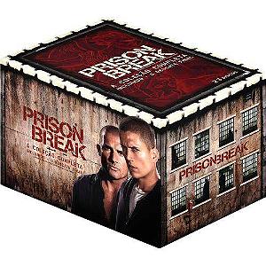 Coleção dvd Prison Break 1ª A 4ª temporada