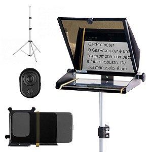 Kit Completo Teleprompter Gazpromptlite