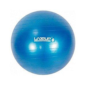 Bola de Pilates 65cm Azul - LIVEUP