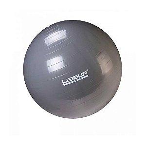Bola de Pilates 85cm Cinza