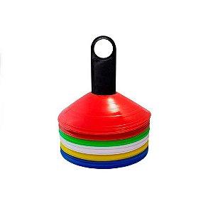 Cone de Agilidade Chapéu Chinês - 50 unidades - OrcFit