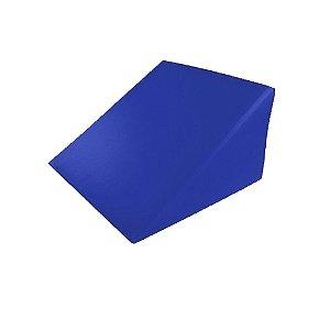 Cunha em Espuma 50x50x30cm Azul- SÓ ESPUMAS