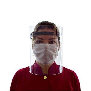 Protetor Facial De Acrílico Face Shield -Salus Brasil