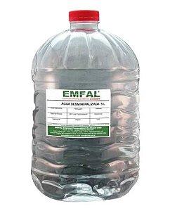 Água desmineralizada galão 6 litros - EMFAL