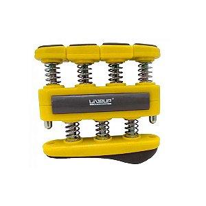 Exercitador para Dedos - Leve - 3lbs / 1,36kg - Amarelo - LIVEUP