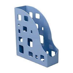 Porta Revistas Dello Azul Claro