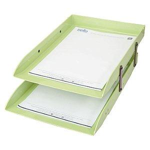 Caixa de Correspondência Dello Dupla Articulada Verde Pistache