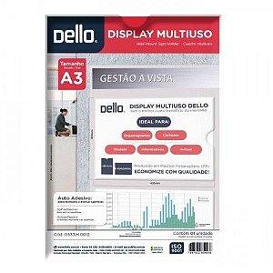 Display Multiuso A3 Dello Auto-Adesivo Cristal