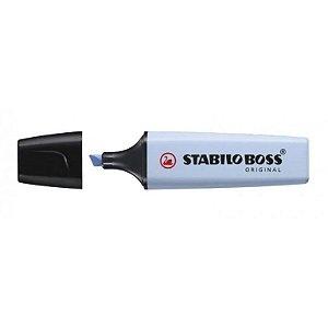Marca Texto Stabilo Boss Azul Nevoa Pastel 70/112