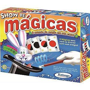 Show de Mágicas 28 Peças em Madeira Xalingo