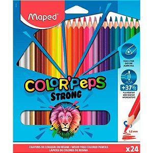 Lápis de Cor Maped Color Peps Strong 3.2mm com 24 Unidades