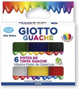 Guache Giotto com 6 Unidades 15ML