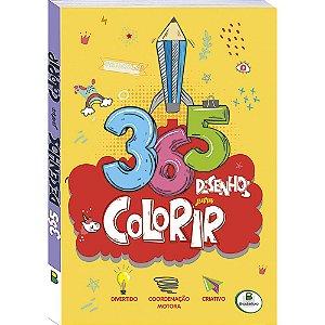 365 Desenhos para Colorir - Editora Todo Livro