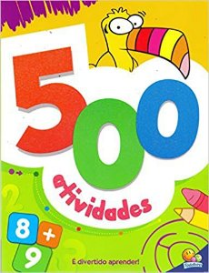500 Atividades - Editora Todo Livro