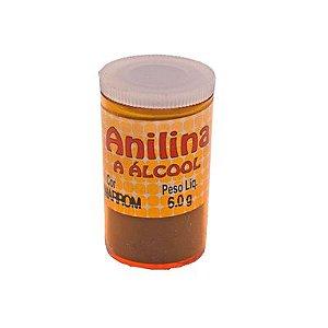 Anilina a Álcool Glitter Marrom 6G