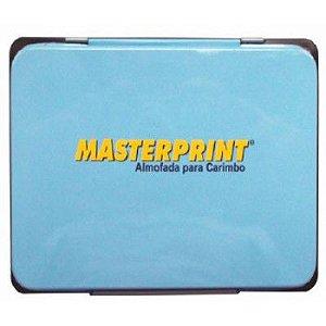 Almofada para Carimbo Masterprint N3 Azul