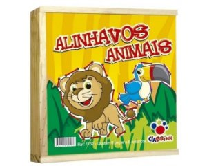 Alinhavos Animais Ciabrink 8 peças em Madeira