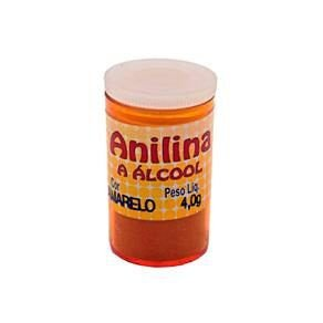 Anilina a Álcool Glitter Amarelo 4G