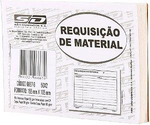 Bloco para Requisição de Material São Domingos 155X105mm