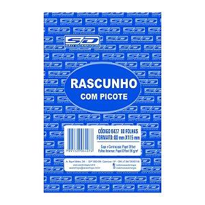 Bloco de Rascunho São Domingos 80mmx115mm 80 folhas