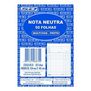 Bloco de Nota Neutra São Domingos 104X143mm 50 folhas