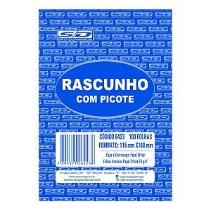 Bloco de Rascunho São Domingos 115mmx160mm 100 folhas