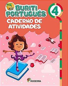 Buriti Português 4ºano Caderno de Atividades - Editora Moder