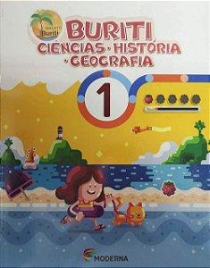 Buriti Ciências/História/Geografia 1ºano - Editora Moderna